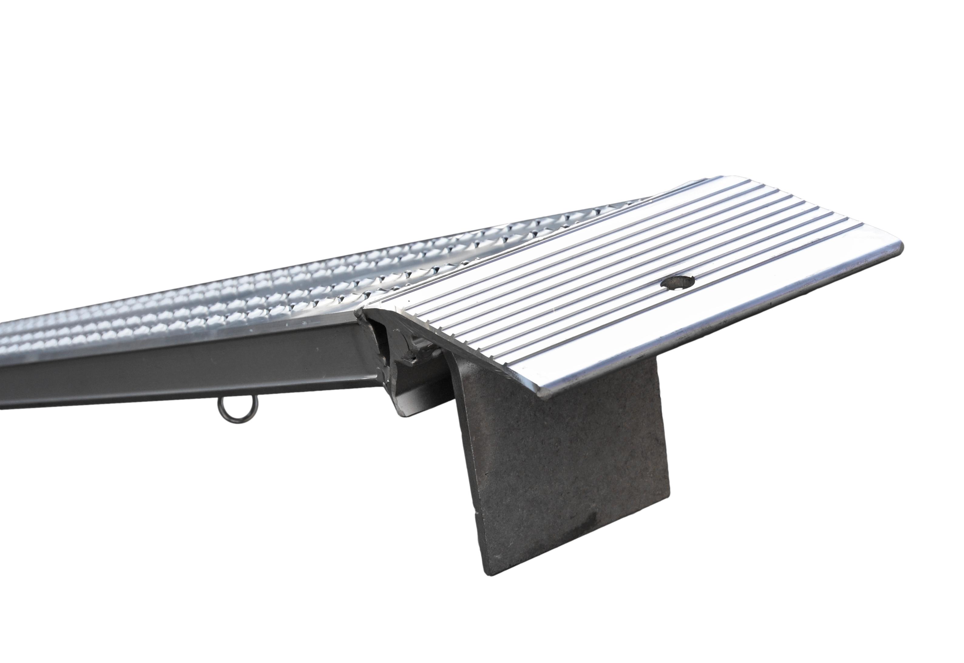 alu auffahrrampe l nge 2500mm tragkraft 400 kg paar g nstig. Black Bedroom Furniture Sets. Home Design Ideas